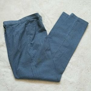 Lizwear Lightweight Blue Tattersall Pants 12 NEW